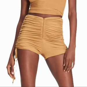 I. Am. GIA Colette ribbed cinched short. XS
